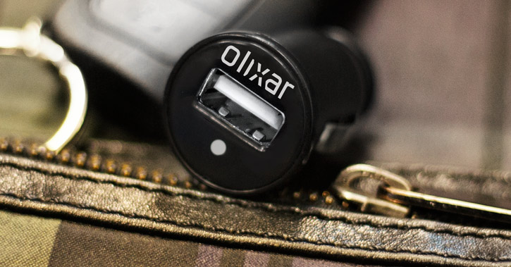 Olixar Universal 1A Single USB Car Charger