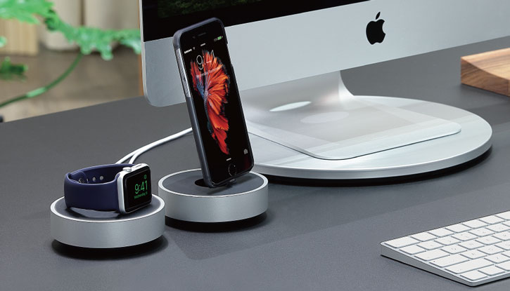 Dock Chargement Synchronisation Just Mobile HoverDock Lightning iPhone