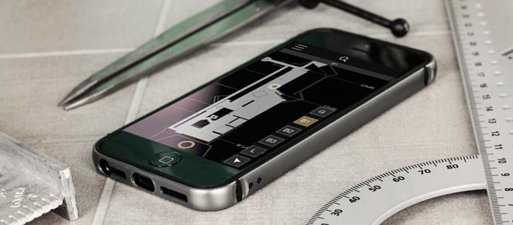 Iphone  Bumper Alu