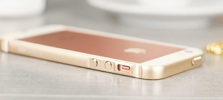 X-Doria Bump Gear Plus iPhone SE Aluminium Bumper Case - Gold
