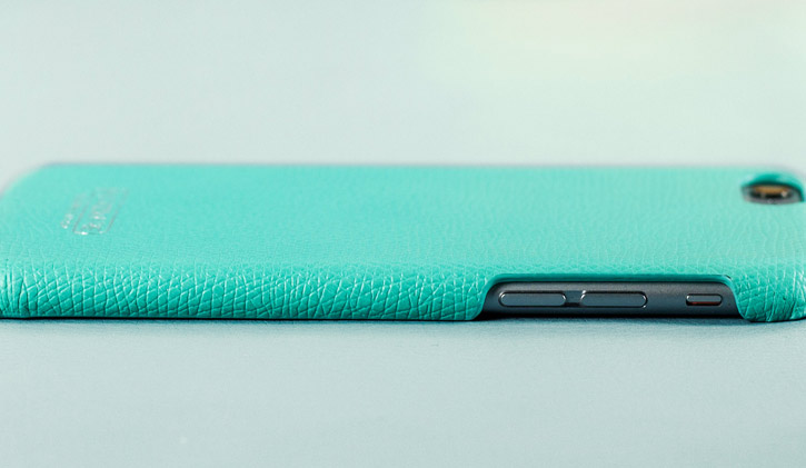 Hansmare Genuine Leather Skin iPhone 6S / 6 Case - Mint