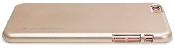 Mercury Goospery iJelly iPhone 6S / 6 Gel Case - Metallic Gold
