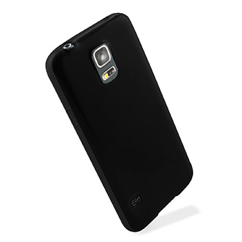 Flexishield Samsung Galaxy S5 Mini Case - Solid Black