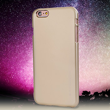 Mercury iJelly iPhone 6S Plus / 6 Plus Gel Case - Metallic Gold