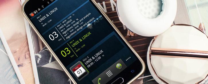 Mercury Metallic Silicone Finish Hard Case Samsung Galaxy S6 - Gold