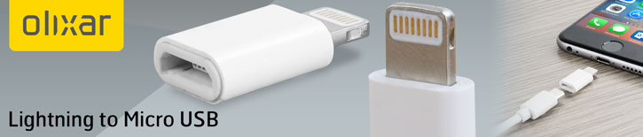 Lightning To Micro USB Adapter - White