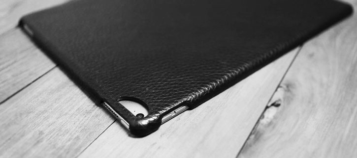 Vaja Genuine Handcrafted Leather Slim Cover iPad Pro Case - Black