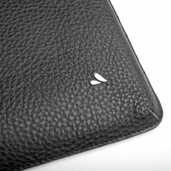Vaja Genuine Handcrafted Leather iPad Pro Sleeve Case - Black
