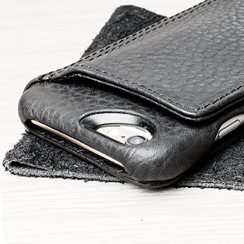 Vaja Niko iPhone 6S / 6 Premium Leather Wallet Case - Black