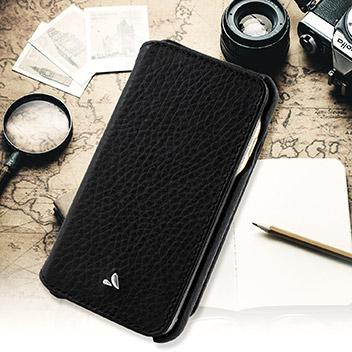 Vaja Niko iPhone 6S / 6 Premium Leather Wallet Case - Black