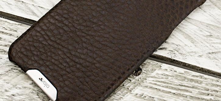 Vaja Grip iPhone 6S Plus / 6 Plus Premium Leather Case - Brown / Birch