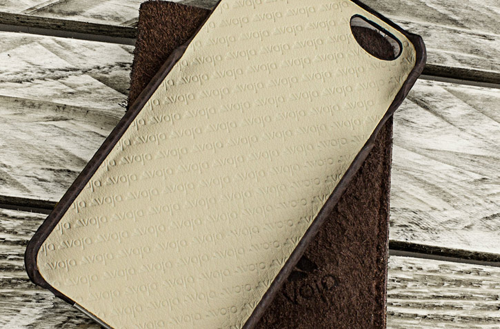 Vaja Grip iPhone 6S Plus / 6 Plus Premium Leather Case - Brown / Birch