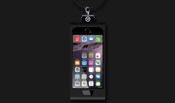 Patchworks Colorant LINK iPhone 6S / 6 Lanyard Case - Black