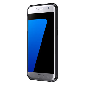 Griffin Reveal Samsung Galaxy S7 Bumper Case - Clear / Black