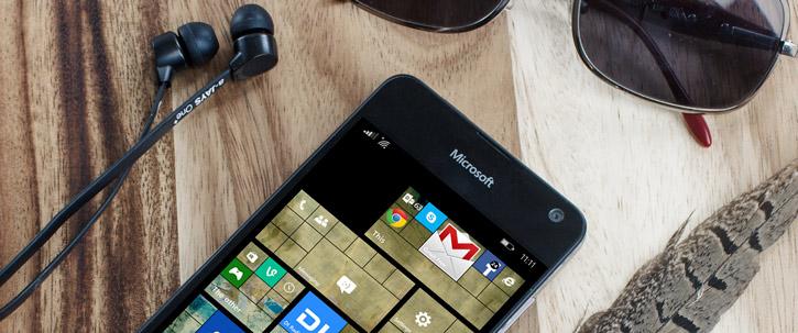 Mozo Microsoft Lumia 650 PU Back Cover Case - Black Wood