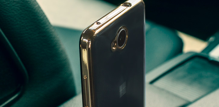 Mozo Microsoft Lumia 650 Glam Case - Gold