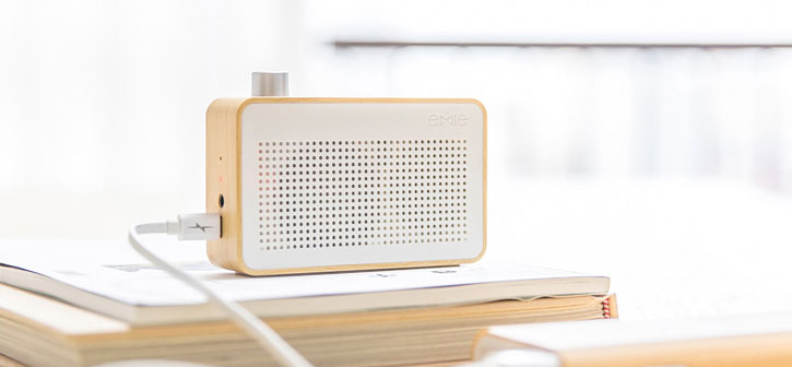 Emie Vintage Bluetooth Speaker and Radio