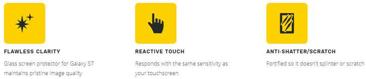 OtterBox Alpha Samsung Galaxy S7 Glass Screen Protector