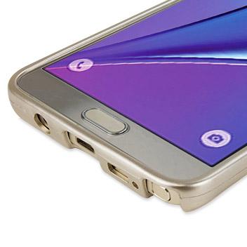 Mercury iJelly Samsung Galaxy Note 5 Gel Case - Metallic Gold