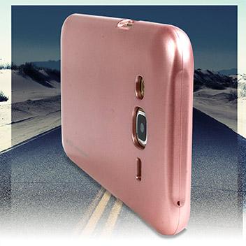 Mercury Goospery iJelly Samsung Galaxy J5 Gel Case - Metallic Rose