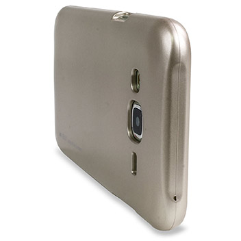 Mercury Goospery iJelly Samsung Galaxy J5 Gel Case - Metallic Gold