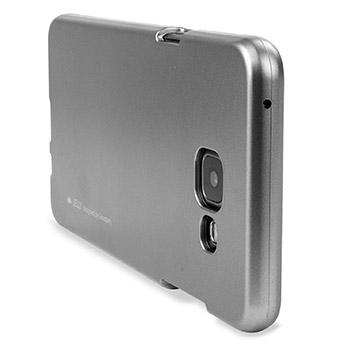Mercury Goospery iJelly Samsung Galaxy A7 Gel Case - Metallic Silver