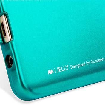 Mercury iJelly Samsung Galaxy Note 5 Gel Case - Metallic Green