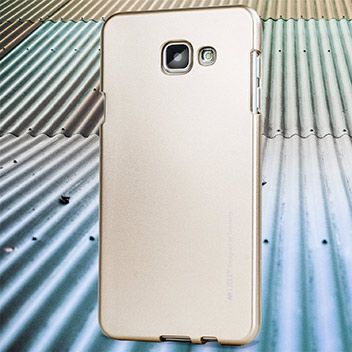 Mercury Goospery iJelly Samsung Galaxy A5 Gel Case - Metallic Gold