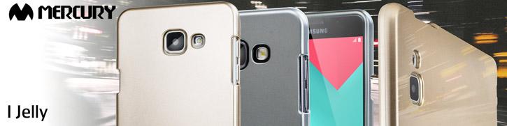 Mercury Goospery iJelly Samsung Galaxy A5 Gel Case - Metallic Gold