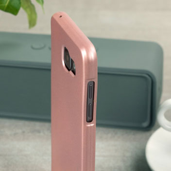 Mercury Goospery iJelly Samsung Galaxy A5 2016 Gel Case - Rose Gold