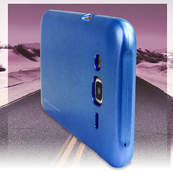 Mercury Goospery iJelly Samsung Galaxy J5 Gel Case - Metallic Blue