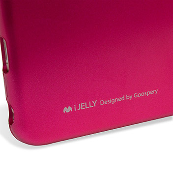Mercury iJelly iPhone 6S Plus / 6 Plus Gel Case - Metallic Pink