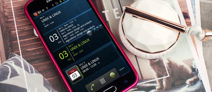 Mercury Metallic Silicone Finish Hard case Samsung Galaxy S6 -Hot Pink