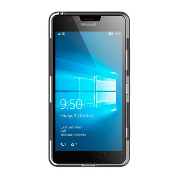 Ghostek Cloak Microsoft Lumia 950 Tough Case - Clear / Black