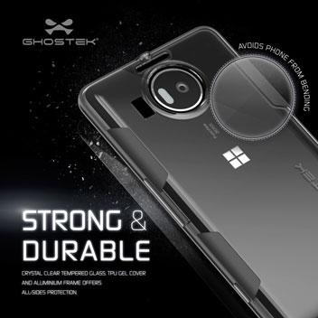 Ghostek Cloak Microsoft Lumia 950 XL Tough Case - Clear / Black