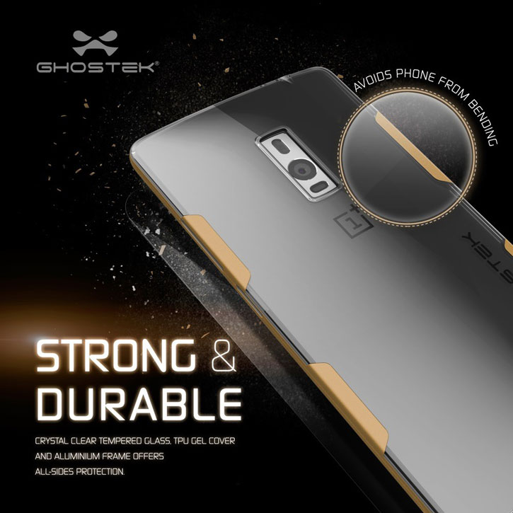 Ghostek Cloak OnePlus 2 Tough Case - Clear / Gold