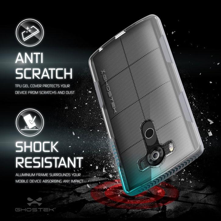 Ghostek Cloak LG V10 Tough Case - Clear / Silver