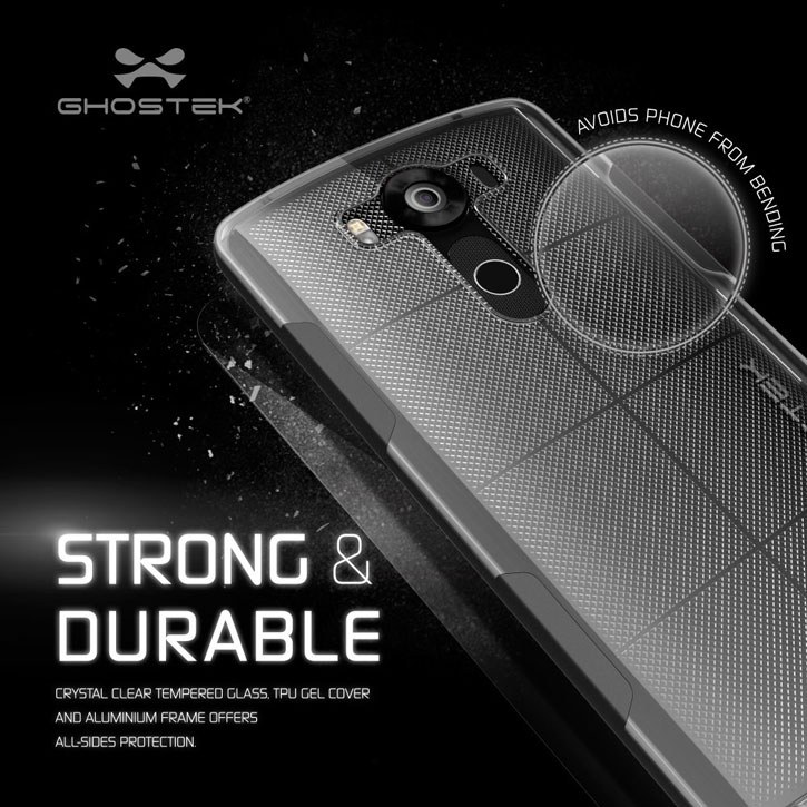 Ghostek Cloak LG V10 Tough Case - Clear / Black