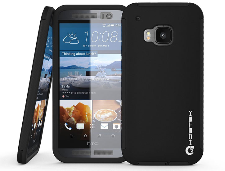 Ghostek Blitz HTC One M9 Rubberised Case - Black