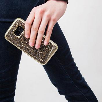 Case-Mate Metallic Samsung Galaxy S7 Case - Champagne / Black