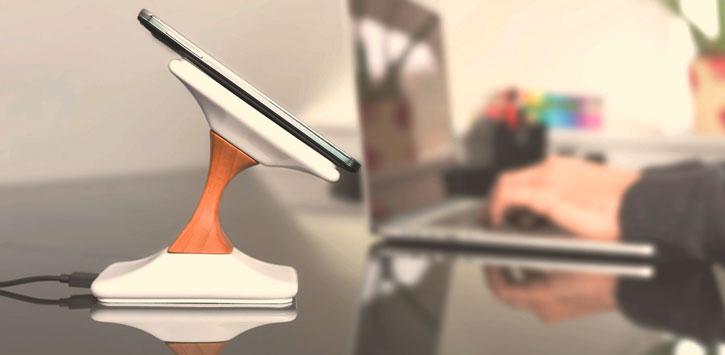 Soporte de carga inalámbrico de alta calidad para iPod SWICH Premium