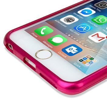 Mercury Goospery iJelly iPhone 6S / 6 Gel Case - Metallic Pink