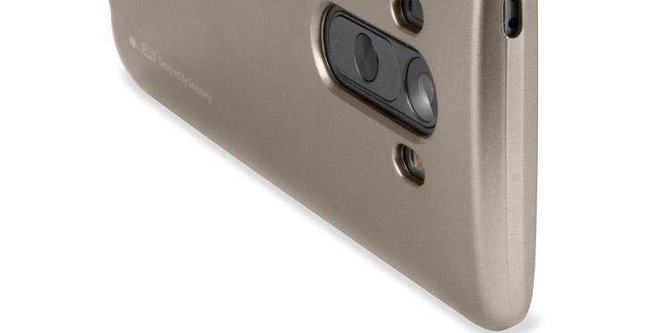 Mercury Goospery iJelly LG G3 Gel Case - Metallic Gold