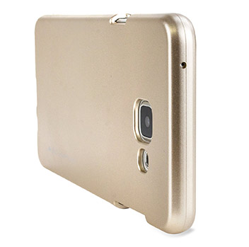 Mercury Goospery iJelly Samsung Galaxy A7 Gel Case - Metallic Gold