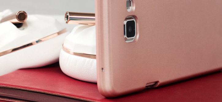 simple, mercury metallic silicone finish hard case samsung galaxy a7 rose gold all HTC