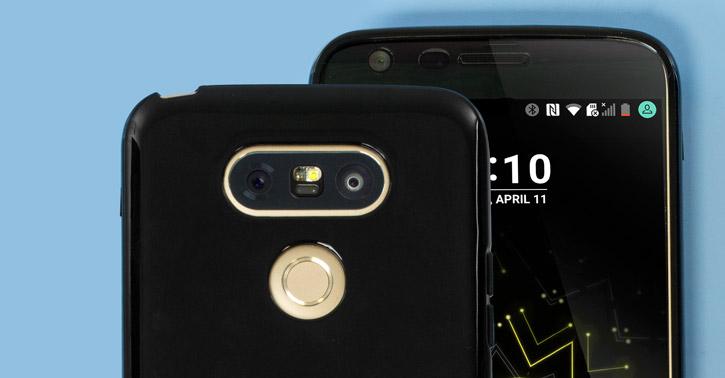 FlexiShield LG G5 Gel Case - Solid Black
