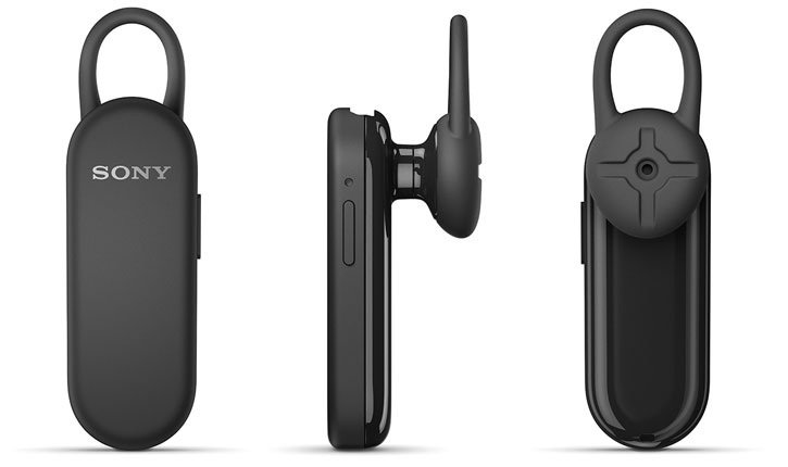 Sony Bluetooth Headset Mono MBH20 - Black