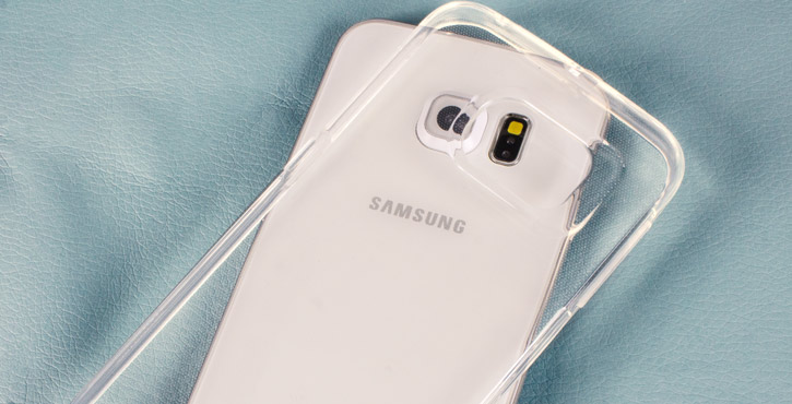 Mercury Goospery Jelly Samsung Galaxy S6 Edge Gel Case - Clear