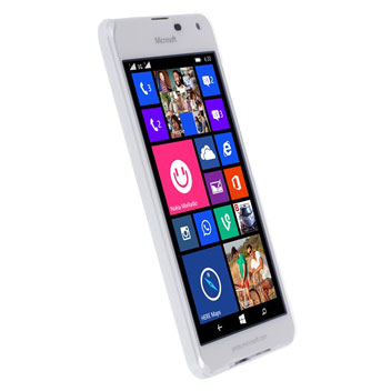 Krusell Boden Lumia 650 Cover - White