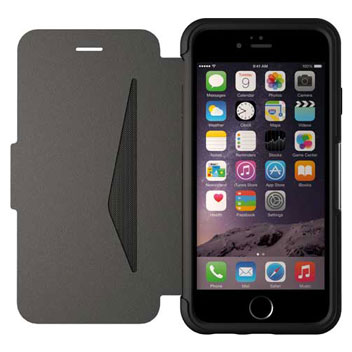 OtterBox Strada Series iPhone 6S Plus / 6 Plus Leather Case - Black